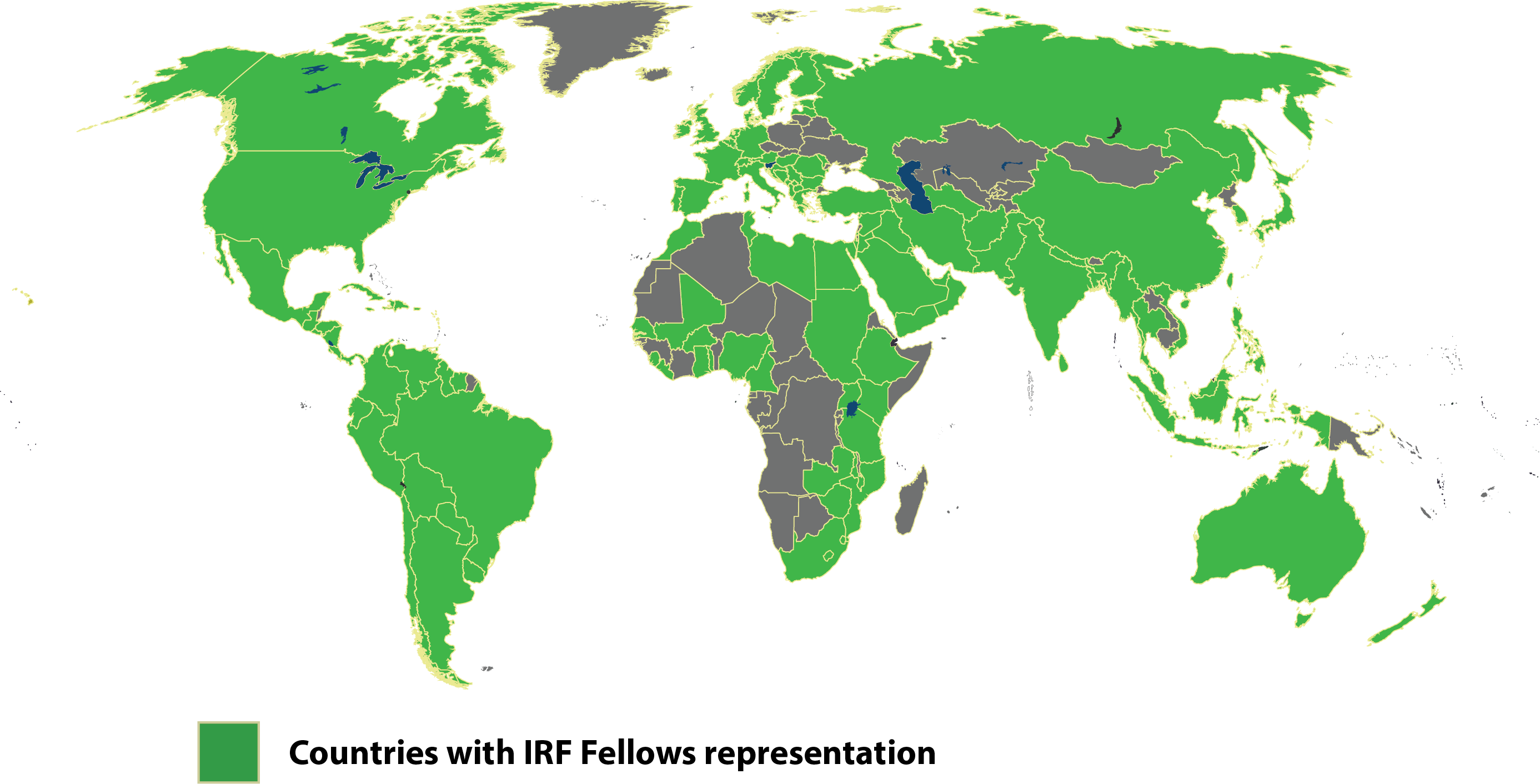 IREF-fellows-countries